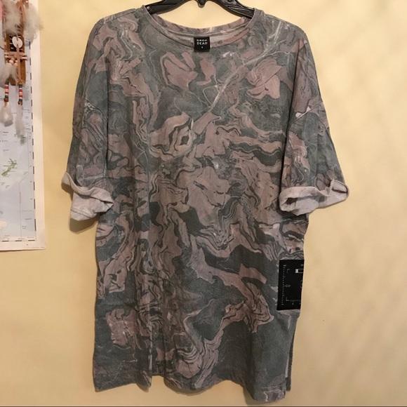 19fc937b dropdead Tops | Sold On Depop Drop Dead Oversized Shirt | Poshmark